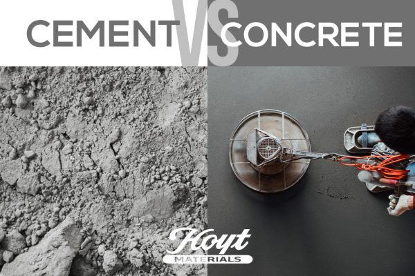 Concrete vs. Cement